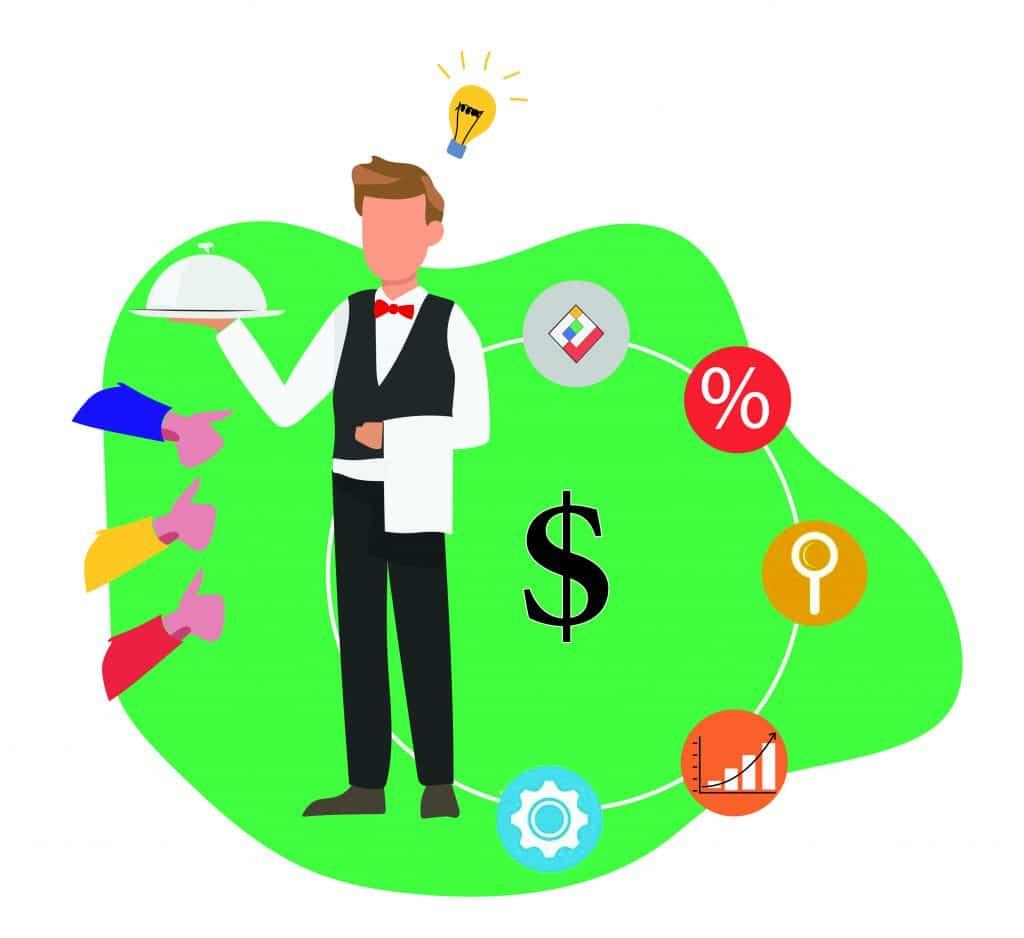 مدل کسب و کار رستوران در اثر خاص