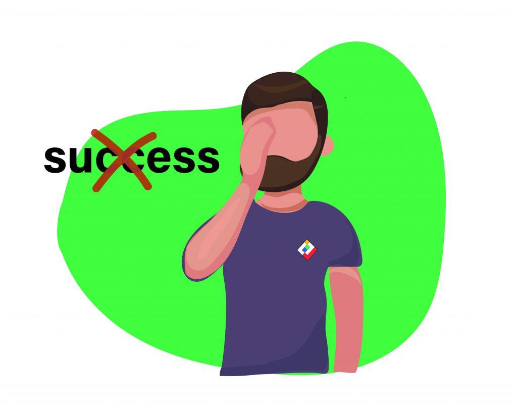 دو عاملی که باعث میشود موفق نشوید.