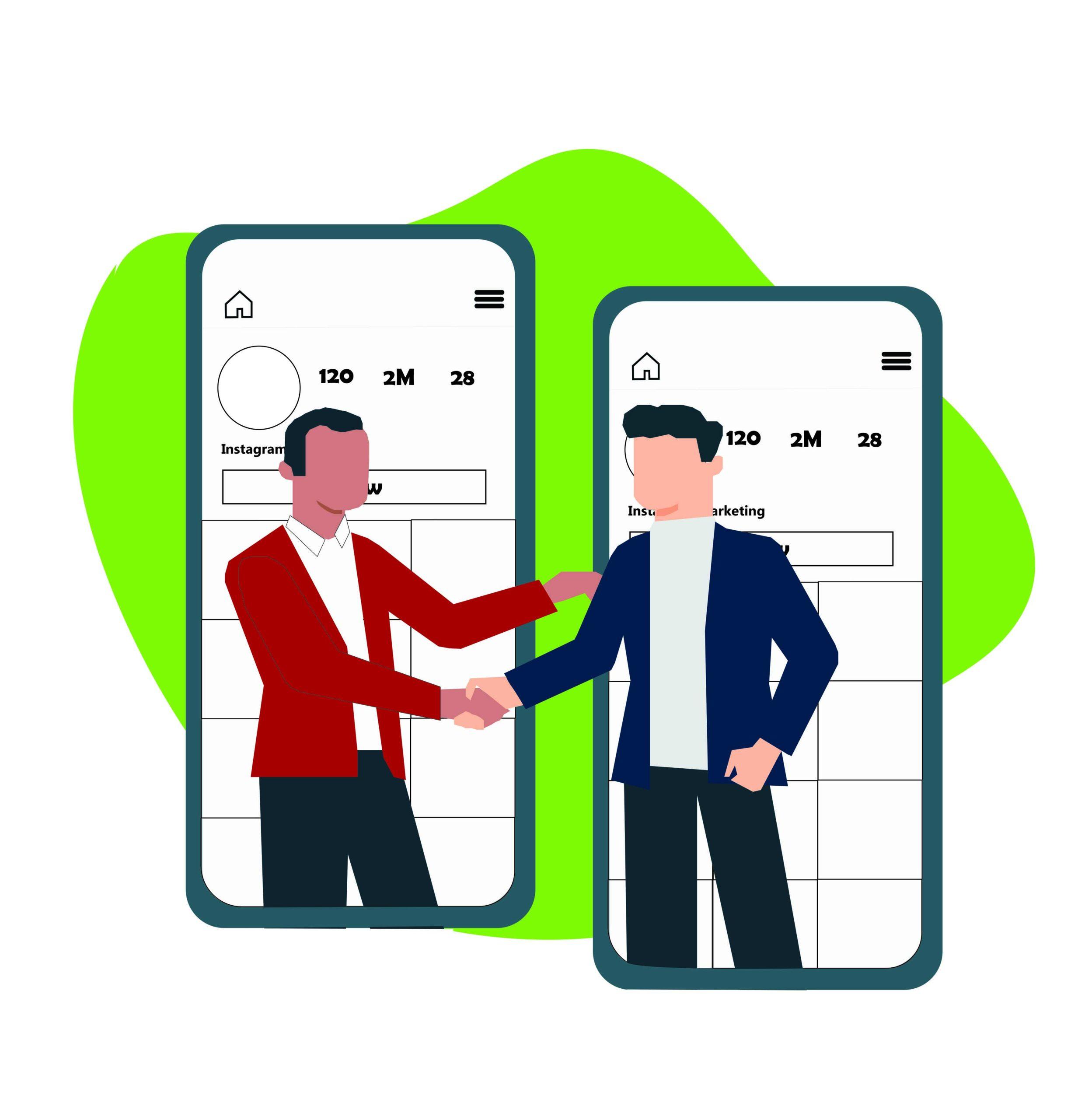 همکاری در فروش برای جذب ترافیک